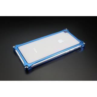 ギルドデザイン ソリッドバンパー ブルー iPhone 7
