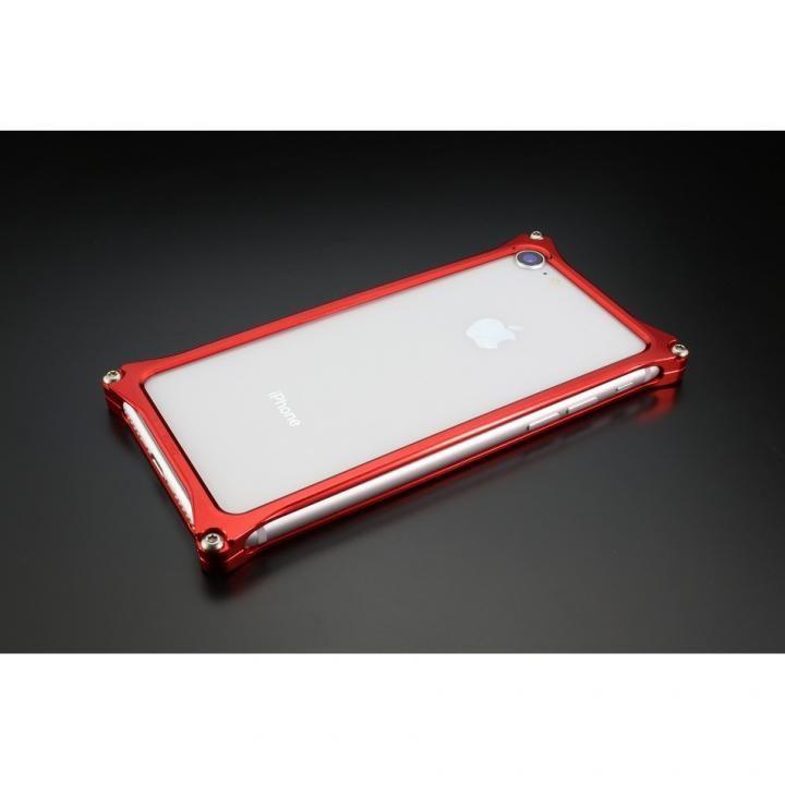 iPhone8/7 ケース ギルドデザイン ソリッドバンパー レッド iPhone SE 第2世代/8/7_0