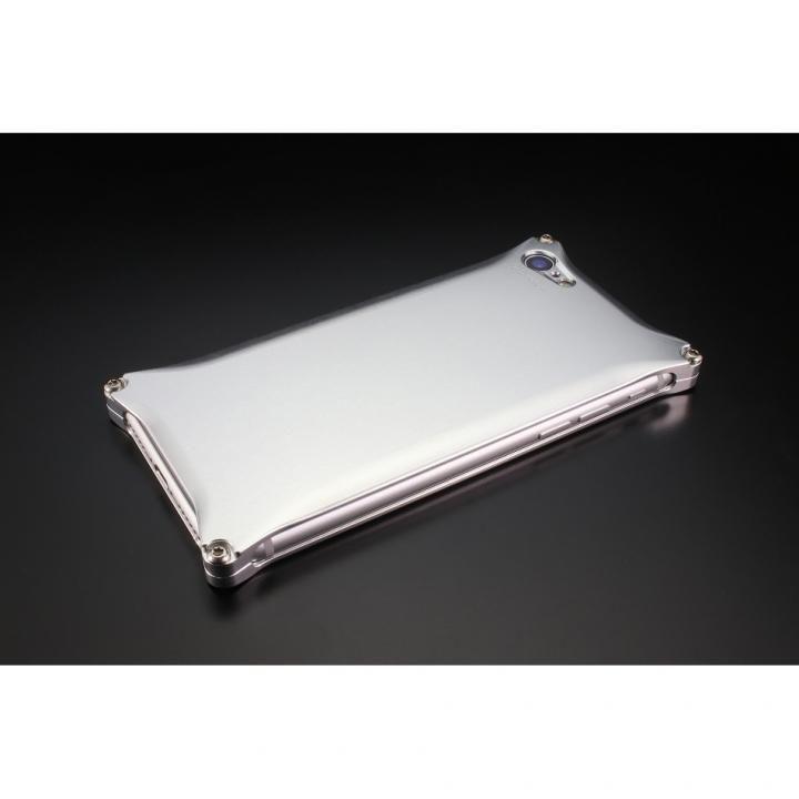 iPhone8/7 ケース ギルドデザイン ソリッドケース シルバー iPhone SE 第2世代/8/7_0