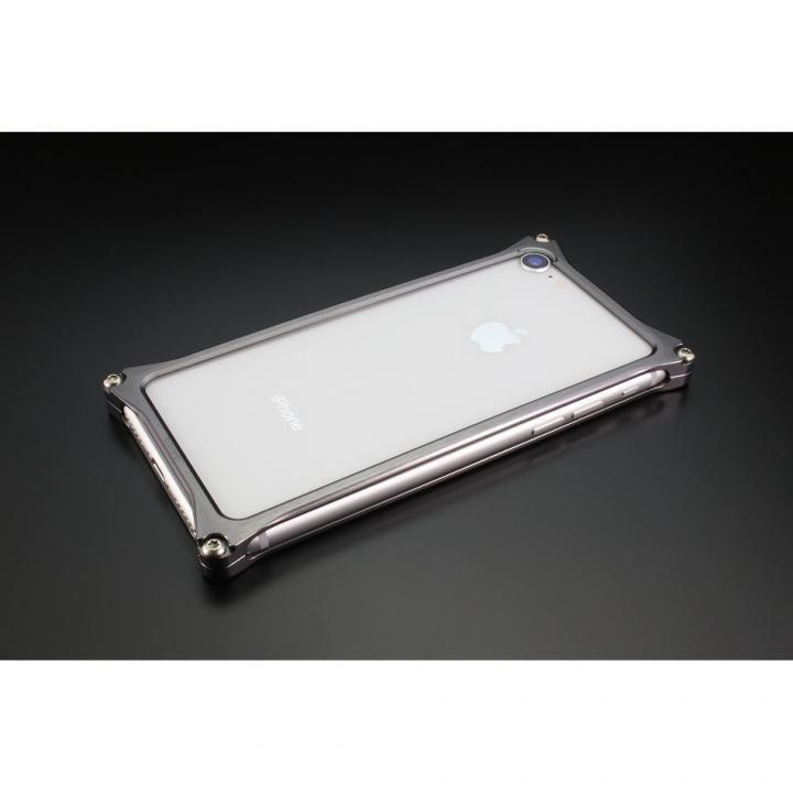 iPhone8/7 ケース ギルドデザイン ソリッドバンパー グレー iPhone SE 第2世代/8/7_0