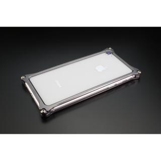 iPhone SE 第2世代 ケース ギルドデザイン ソリッドバンパー グレー iPhone SE 第2世代/8/7【10月上旬】