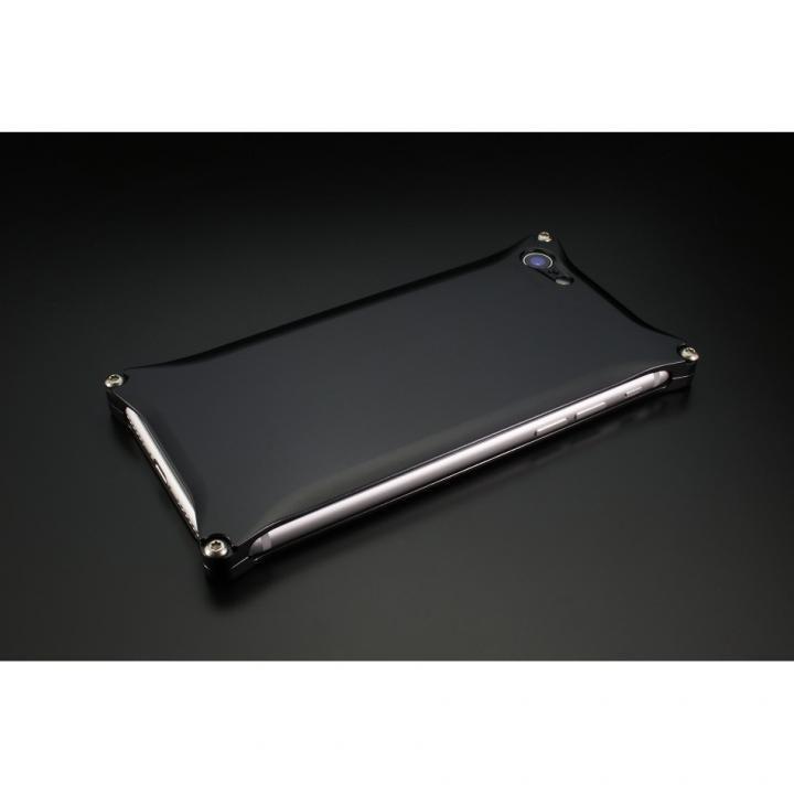 iPhone8/7 ケース ギルドデザイン ソリッドケース ブラック iPhone SE 第2世代/8/7_0