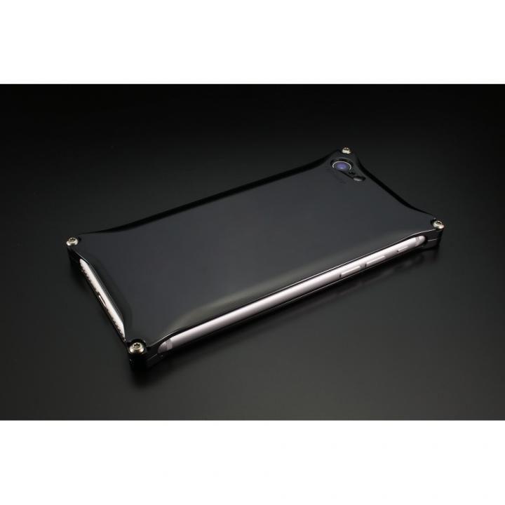 iPhone8/7 ケース ギルドデザイン ソリッドケース ポリッシュブラック iPhone SE 第2世代/8/7_0