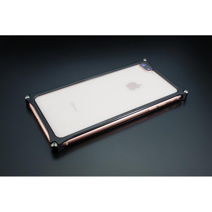 【iPhone8 Plus/7 Plusケース】ギルドデザイン ソリッドバンパー ポリッシュブラック iPhone 8 Plus/7 Plus_0