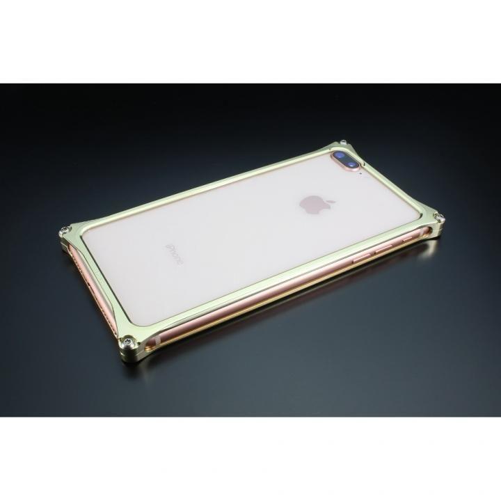 iPhone8 Plus/7 Plus ケース ギルドデザイン ソリッドバンパー シャンパンゴールド iPhone 8 Plus/7 Plus_0