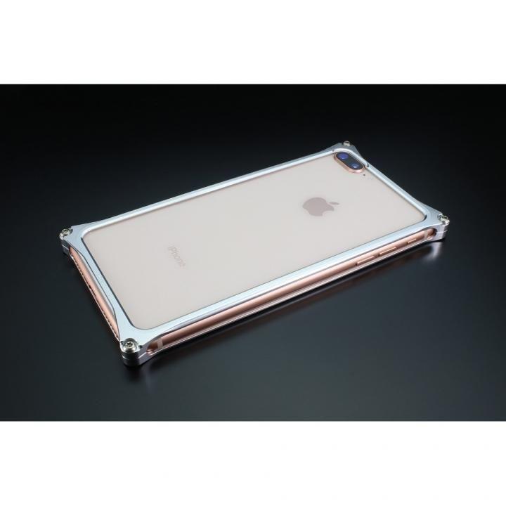 iPhone8 Plus/7 Plus ケース ギルドデザイン ソリッドバンパー シルバー iPhone 8 Plus/7 Plus【6月上旬】_0
