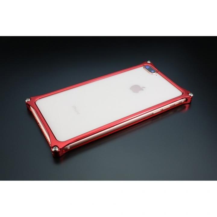 ギルドデザイン ソリッドバンパー レッド iPhone 7 Plus