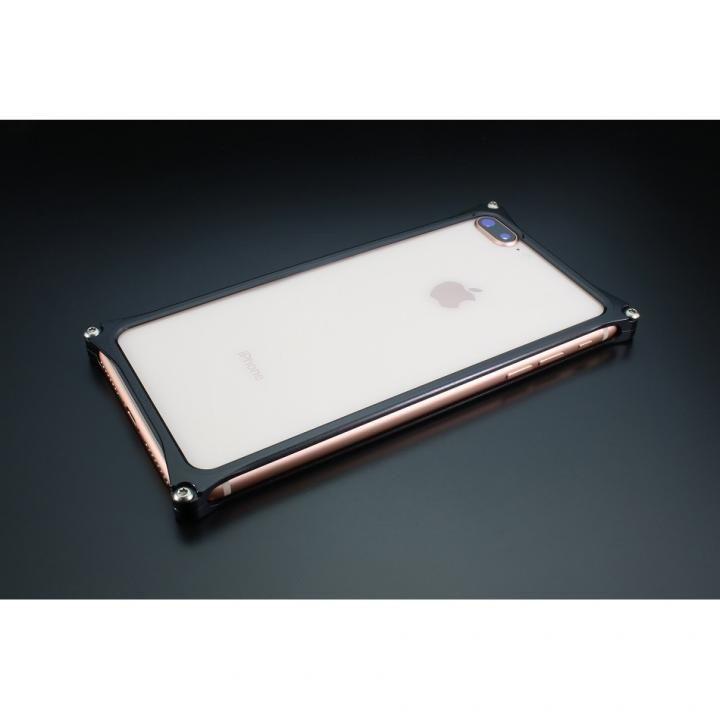 【iPhone8 Plus/7 Plusケース】ギルドデザイン ソリッドバンパー ブラック iPhone 8 Plus/7 Plus_0