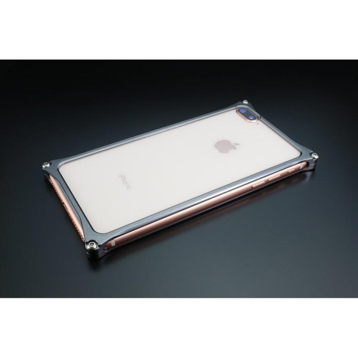 【iPhone8 Plus/7 Plusケース】ギルドデザイン ソリッドバンパー グレー iPhone 8 Plus/7 Plus_0