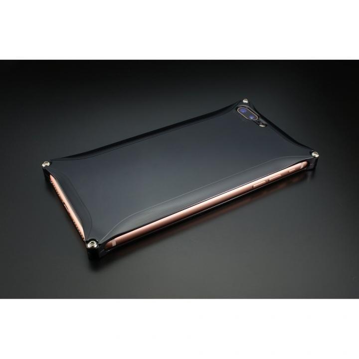ギルドデザイン ソリッドケース ポリッシュブラック iPhone 7 Plus