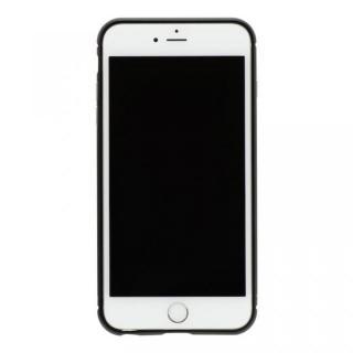 iPhone8/7 ケース クリスタルアーマー メタルバンパー オールブラック iPhone 8/7