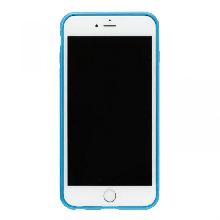 iPhone8/7 ケース クリスタルアーマー メタルバンパー ライトニングブルー iPhone 8/7_0