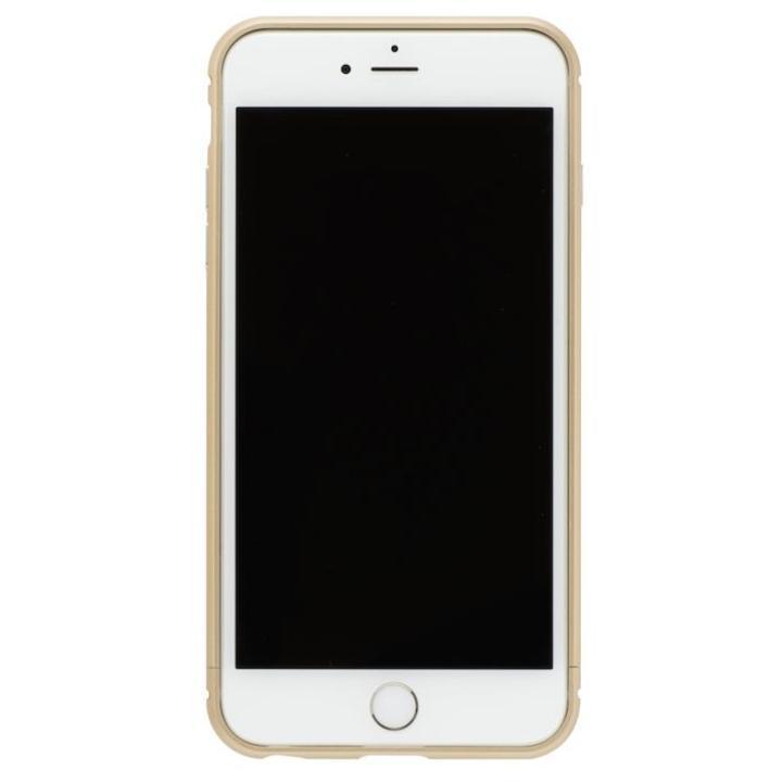 iPhone8/7 ケース クリスタルアーマー メタルバンパー シャンパンゴールド iPhone 8/7_0