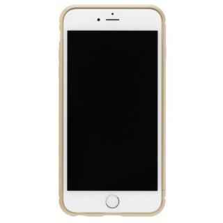 iPhone8/7 ケース クリスタルアーマー メタルバンパー シャンパンゴールド iPhone 8/7