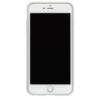 iPhone8/7 ケース クリスタルアーマー メタルバンパー プレーンシルバー iPhone 8/7