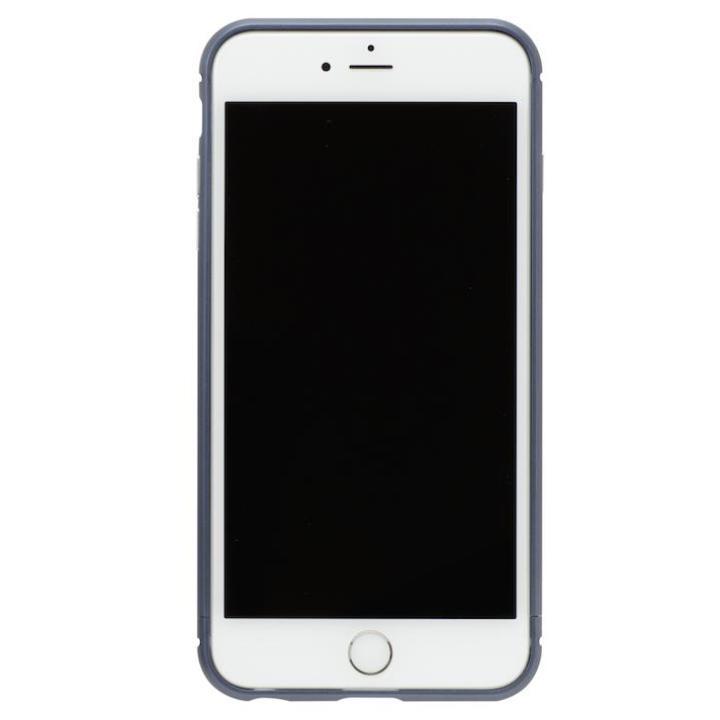 【iPhone8/7ケース】クリスタルアーマー メタルバンパー ネイビー iPhone 8/7_0