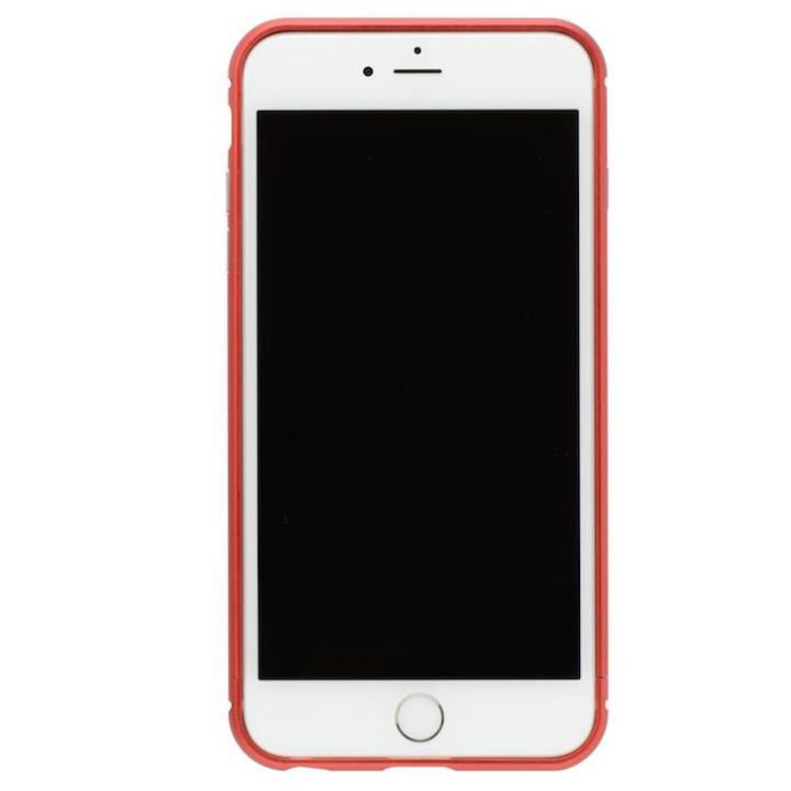 クリスタルアーマー メタルバンパー メタルレッド iPhone 8/7