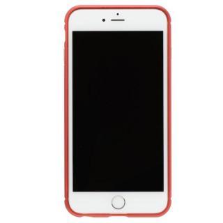 クリスタルアーマー メタルバンパー メタルレッド iPhone 7