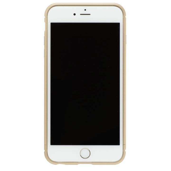 iPhone8 Plus/7 Plus ケース クリスタルアーマー メタルバンパー シャンパンゴールド iPhone 8 Plus/7 Plus_0