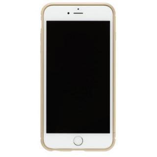 クリスタルアーマー メタルバンパー シャンパンゴールド iPhone 7 Plus