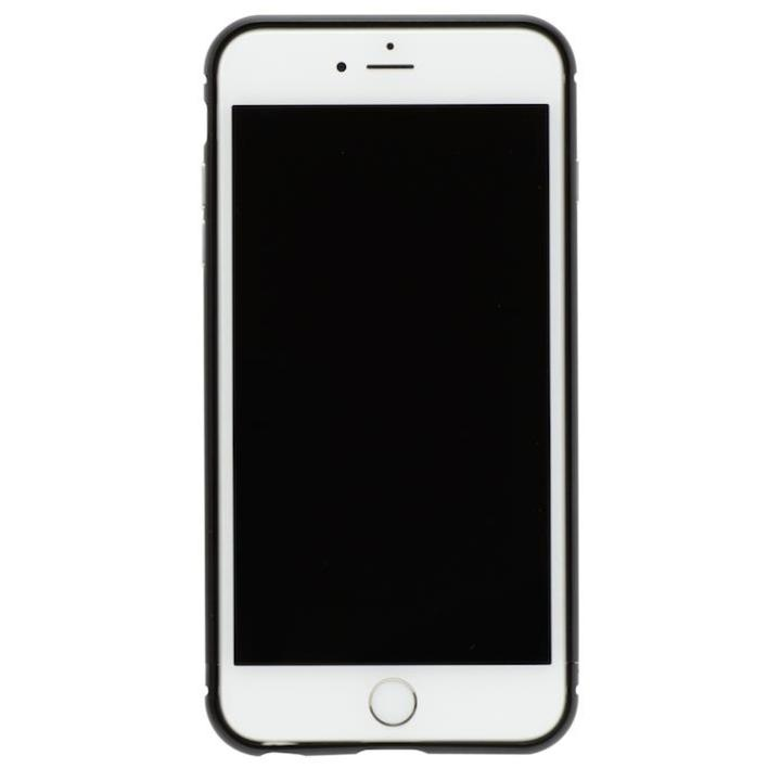 【iPhone8 Plus/7 Plusケース】クリスタルアーマー メタルバンパー オールブラック iPhone 8 Plus/7 Plus_0