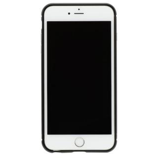 【iPhone8 Plus/7 Plusケース】クリスタルアーマー メタルバンパー オールブラック iPhone 8 Plus/7 Plus
