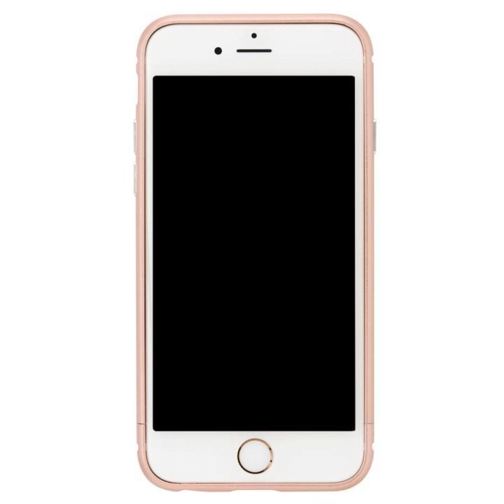 iPhone8/7 ケース クリスタルアーマー メタルバンパー ローズゴールド iPhone 8/7_0