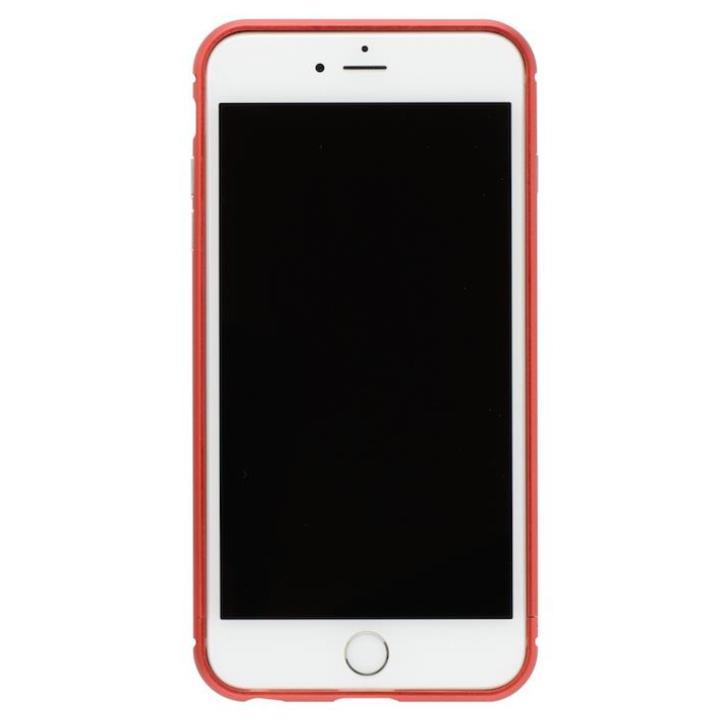 【iPhone8 Plus/7 Plusケース】クリスタルアーマー メタルバンパー メタルレッド iPhone 8 Plus/7 Plus_0