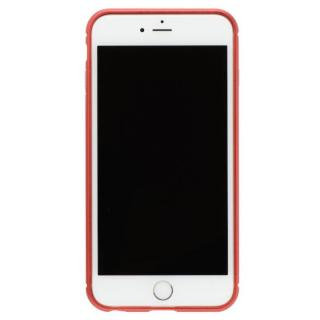 クリスタルアーマー メタルバンパー メタルレッド iPhone 7 Plus