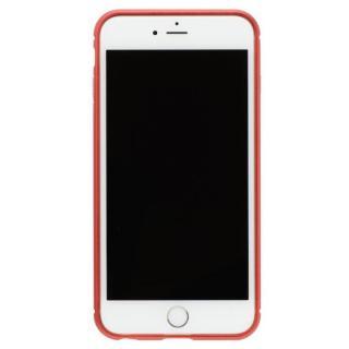 iPhone8 Plus/7 Plus ケース クリスタルアーマー メタルバンパー メタルレッド iPhone 8 Plus/7 Plus