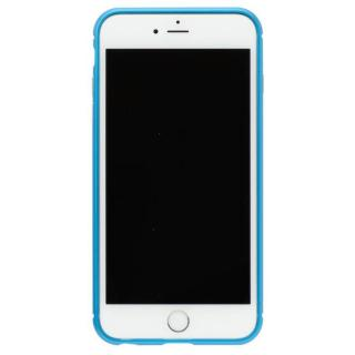 クリスタルアーマー メタルバンパー ライトニングブルー iPhone 7 Plus