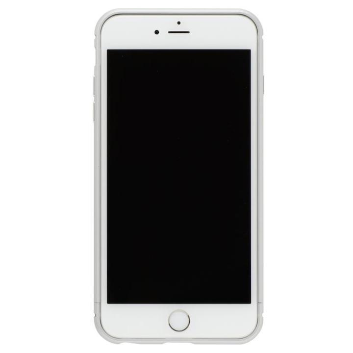 iPhone8 Plus/7 Plus ケース クリスタルアーマー メタルバンパー プレーンシルバー iPhone 8 Plus/7 Plus_0