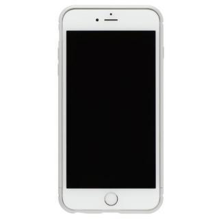 iPhone8 Plus/7 Plus ケース クリスタルアーマー メタルバンパー プレーンシルバー iPhone 8 Plus/7 Plus
