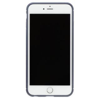 iPhone8 Plus/7 Plus ケース クリスタルアーマー メタルバンパー ネイビー iPhone 8 Plus/7 Plus