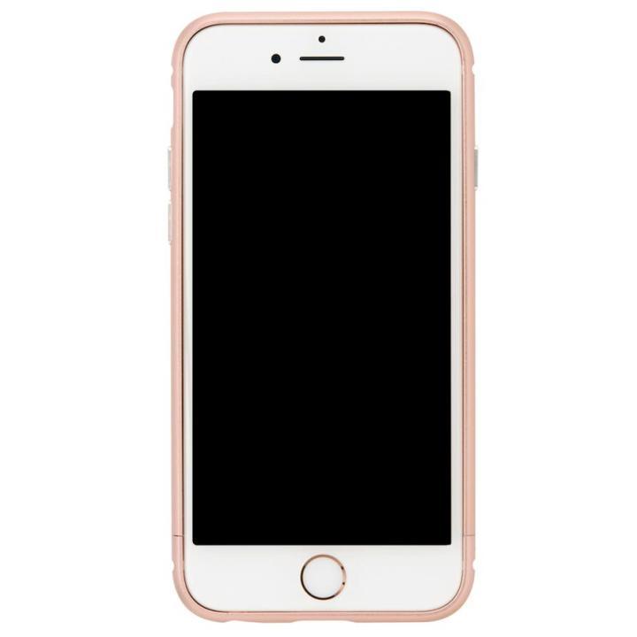 【iPhone8 Plus/7 Plusケース】クリスタルアーマー メタルバンパー ローズゴールド iPhone 8 Plus/7 Plus_0