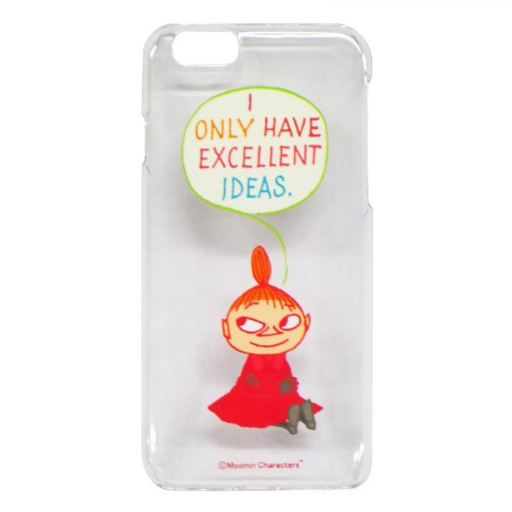 【iPhone6ケース】ムーミン ハードケース リトルミイ/アイデア iPhone 6_0