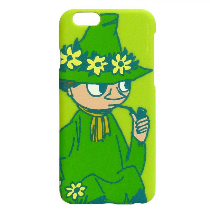 ムーミン ハードケース スナフキン/スワリ iPhone 6