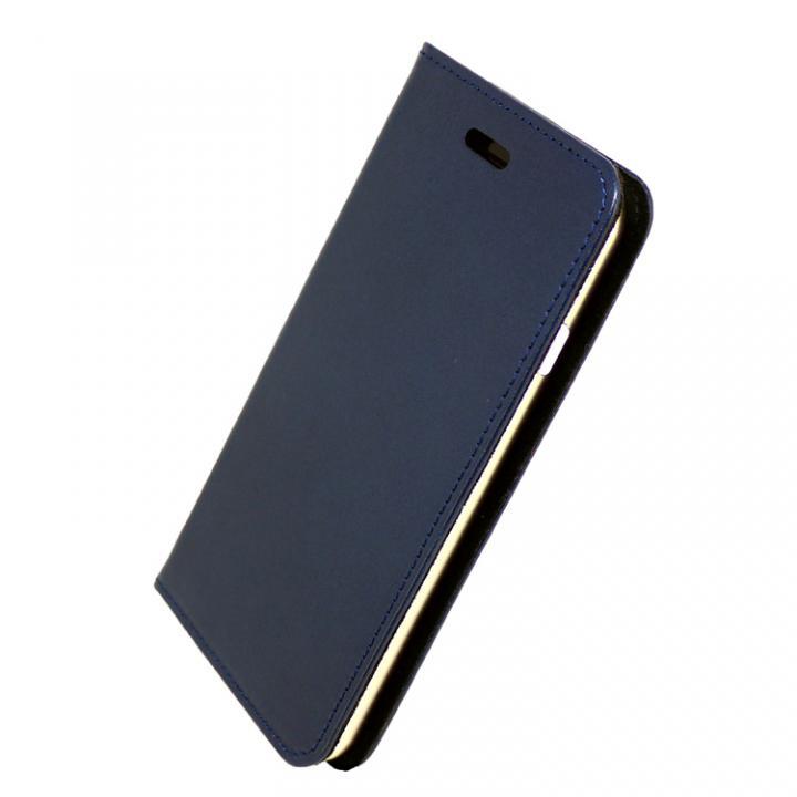 iPhone7 ケース 手帳×アルミバンパーケース Cuoio 紺/ゴールド iPhone 7_0