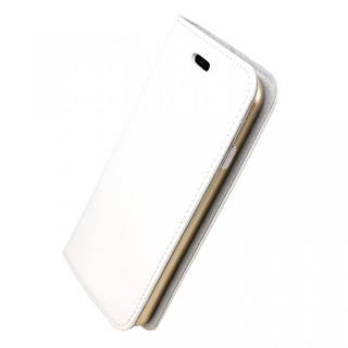 手帳×アルミバンパーケース Cuoio 白/ゴールド iPhone 7