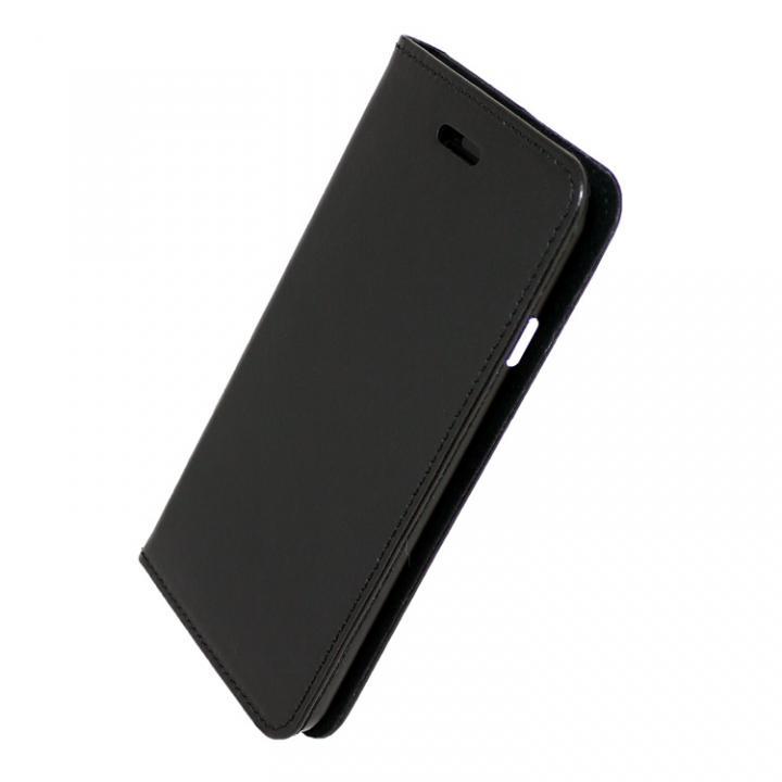 iPhone7 ケース 手帳×アルミバンパーケース Cuoio 黒/ブラック iPhone 7_0