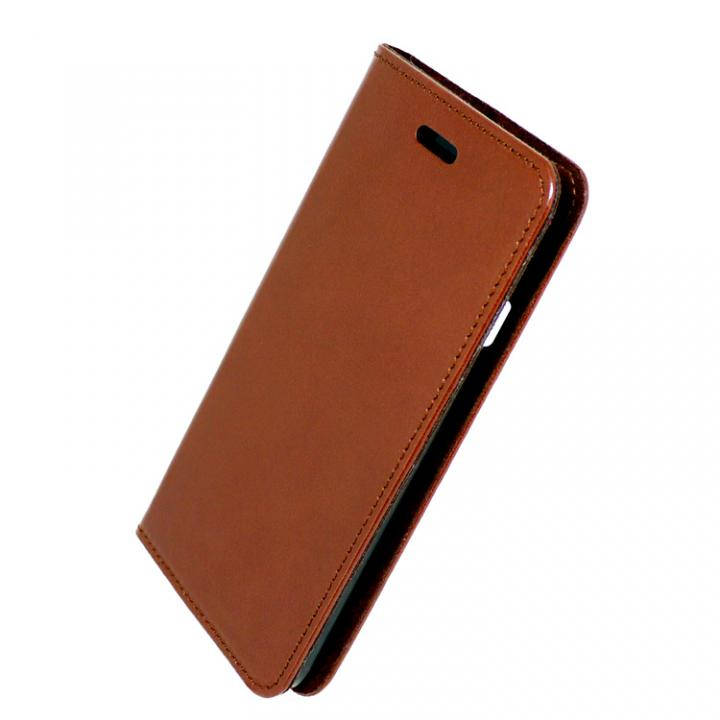 iPhone7 ケース 手帳×アルミバンパーケース Cuoio 茶/ブラック iPhone 7_0