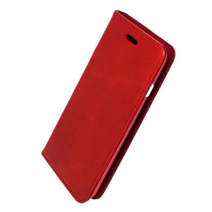 iPhone7 ケース 手帳×アルミバンパーケース Cuoio 赤/レッド iPhone 7_0