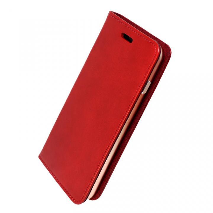 iPhone7 ケース 手帳×アルミバンパーケース Cuoio 赤/ローズゴールド iPhone 7_0
