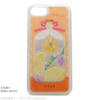 EYLE Glitter Case ハーバリウム イエロー iPhone8/7/6s/6