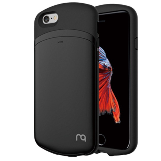 iPhone6s/6 ケース MATCH カプセルカードケース ブラック iPhone 6s/6_0