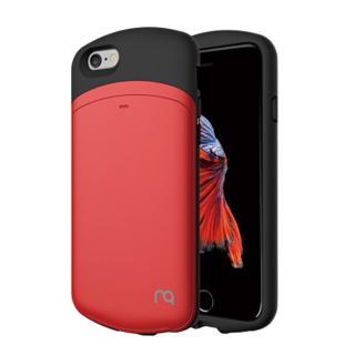 MATCH カプセルカードケース レッド iPhone 6s/6