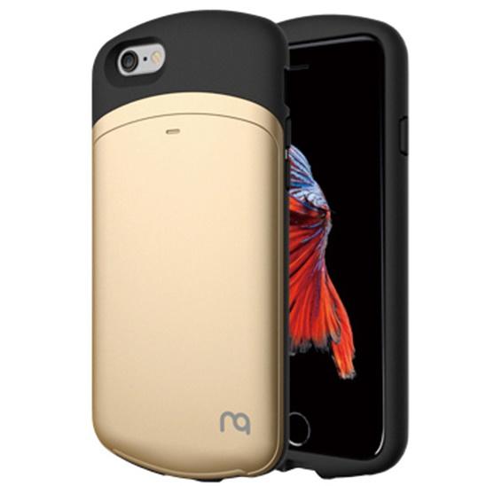 【iPhone6s/6ケース】MATCH カプセルカードケース ゴールド iPhone 6s/6_0