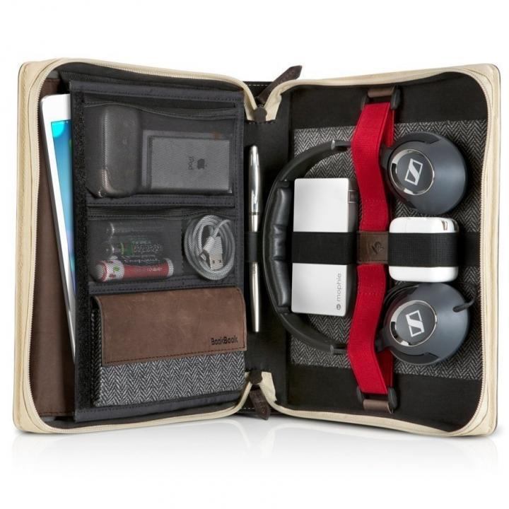 本革製ブック型マルチケース BookBook Travel Journal_0