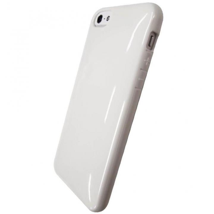 iPhone SE/5s/5対応 ラウンドシェルジャケット シルキーホワイト
