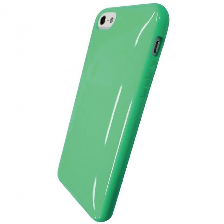 【iPhone SE/5s/5ケース】iPhone SE/5s/5対応 ラウンドシェルジャケット ミントグリーン_0